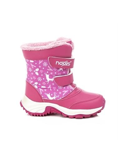 Noxis Noxis Ren Kız Çocuk Kışlık İçi Kürklü Kar Botu Fuşya